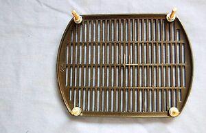 VW KARMANN GHIA 1956-65 BLACK PLASTIC SPEAKER GRILL BRAND NEW!!