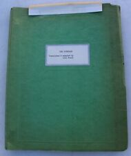The Cuckolds Translated & Adapted by John Stout Play Theater Script Vintage RARE
