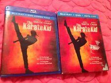 THE KARATE KID BLU-RAY + DVD 2010 MOVIE JADEN SMITH JACKIE CHAN