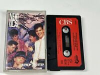 New Kids On The Block - Step By Step - Cassette Tape Album - TESTED *FREE P&P*