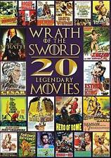 NEW DVD SET: Wrath of the Sword: 20 Movies. 4-Discs, Shrink-wrapped