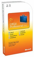 Software Microsoft Office 2010 Professional ITA - NUOVO SIGILLATO ORIGINALE
