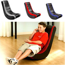 Video Rocker Gaming Chair Ergonomic Pedestal Seat Home Entertainment Furniture
