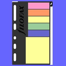 Filofax Multifit Assorted Sticky Notes Multifit Refill Insert 210136