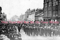HF 243 - Berkhamsted High Street Funeral, Hertfordshire 1912 - 6x4 Photo