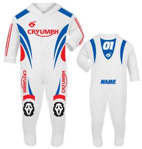 2017 Cryumph Baby Biker Race Sleep Suit