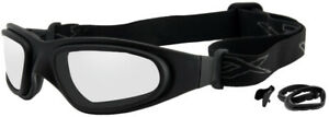 *BEST PRICE* WILEY X SG-1, Matte Black Asian Cut with Lens Gaskets