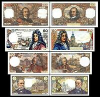 2x 5, 10, 50, 100 Francs - Issue 1962 - 1979 - Reproduction - 03
