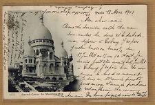 Cpa Paris Sacre Coeur de Montmartre wn0304