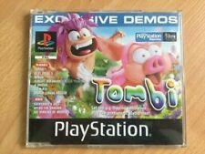 Playstation 1 Demo Disc - Tombi, Test Drive 5, Circuit Breakers, WL Soccer
