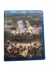 A.D. The Bible Continues (Blu-ray Disc, 2015, 4-Disc Set, New Sealed)