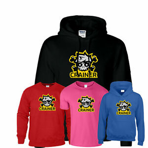 Crainer Jelly Merch Youtuber Gaming Hoodies Gamer Kids T-Shirt Hoody Sweat Mens