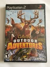 Cabela's Outdoor Adventures 2010 - PlayStation 2 Factory Sealed!!