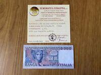 REPUBBLICA LIRE 50000 VOLTO DI DONNA 1982  certificata qSPL SUBALPINA
