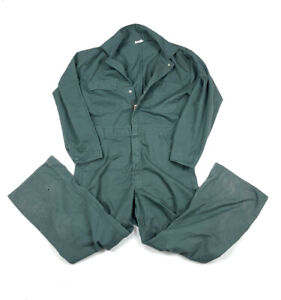 VTG Dark Green Mechanic Coveralls Michael Myers Jumpsuit Sears Men's 38S