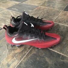 Nike Vapor Untouchable Pro Men Football Black/Red 925423-601 Size 13.5