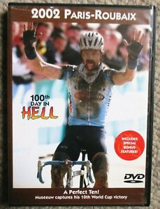 2002 Paris - Roubaix World Cycling Productions 2 DVD set Very Clean Museeuw