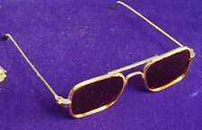Schildkröt Puppenzubehör, elegante Sonnenbrille aus Metall für das Puppenkind