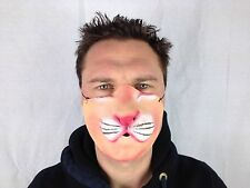 Funny Half Face Cat Mask Lion Animal Fancy Party Masks
