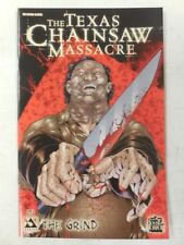 LEATHERFACE Knife Butcher VARIANT Cover TEXAS CHAINSAW MASSACRE Comic GRIND # 3