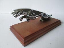 Jaguar cat Mk 2  . hood ornament vehicle mascot.car badge.