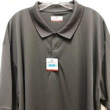 Grand Slam Performance Men's 3XLT Asphalt Golf Polo Shirt NWT