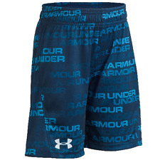 Details about  /NWT BOYS UNDER ARMOUR NEON SPORT SHORTS  SZ 4