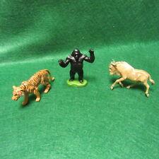 3 Vintage 1970'S Britains Ltd Wild Animals Made In England