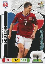 TOMAS NECID # RISING STAR 1/30 REP.CZECH CARD PANINI ADRENALYN EURO 2012