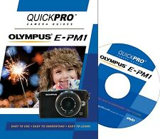 QUICKPro Training DVD Olympus E-PM1 - >NEW< Free US Shipping