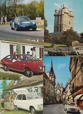 RENAULT CARS 85 postcards Mostly 1950-1980 period