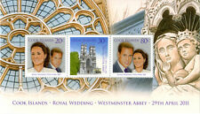 Cook Islands Royal Wedding Souvenir Sheet