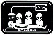 Alien Workshop - Abduction Skateboard Sticker - skate board bmx guitar new sk8