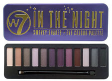 w7 In the Night Eye Colour Palette - 12 Shades Smokey Eye Shadow