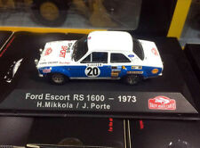 Rallye Monte-Carlo Atlas 1/43 Ford Escort RS 1600 - 1973 H.Mikkola / J.Porte