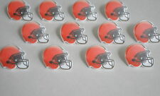 12 NFL Cleveland Browns Football Cup Cake Ring Topper Kid Party Bag Favor Supply