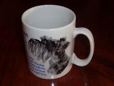 Norfolk China Ceramic Mug MINIATURE SCHNAUZER