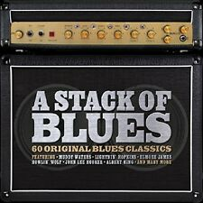 A STACK OF BLUES FEAT. FREDDY KING, B.B. KING, EARL HOOKER AMO 3 CD NEU