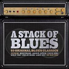 A STACK OF BLUES FEAT. FREDDY KING, B.B. KING, EARL HOOKER AMO 3 CD NEU