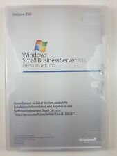 Windows 2011 Small Business Server SBS Premium Add-on 64bit inkl 5 CAL 2XG-00155