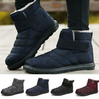 Women's Camouflage Printed Ankle Boots Warm Winter Snow Outdoor Non-skid Shoes