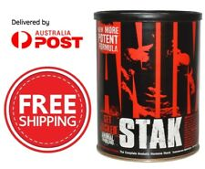 UNIVERSAL NUTRITION ANIMAL STAK - ANABOLIC BOOST - TEST BOOSTER CUTS - 21 PACKS