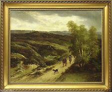 Originale künstlerische Malerei auf Leinwand im Realismus-Stil