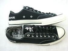 Converse X Suicidal Tendencies Mens Chuck 70 OX Black Canvas Shoes Size 7 New