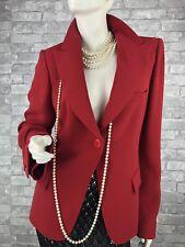Auth New $1,650 GIORGIO ARMANI Runway Silk Jacket Blazer Coat Top 12 US 48 IT L