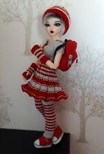 Clothes for BJD Minifee Doll (red/silver)
