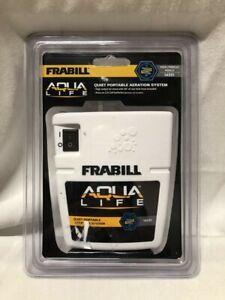Brand New Frabill Whisper Quiet Portable Aeration System. Aqua Life Model 14331