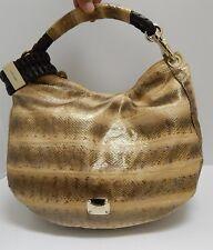 d316d016da New Jimmy Choo Sky Large Genuine Python Snakeskin Hobo Shoulder Bag Italy