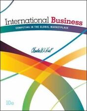 International Business - Competing in the Global Marketplace by Charles W. L. H…