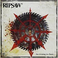 Ripsaw - An Evening in Chaos CD / DVD 2014 Thrash Metal OVP No Remorse Rec.